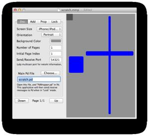 スクラッチング用MMPファイルのインターフェース